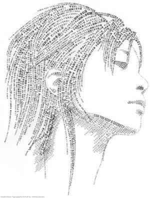 utada_hikaru_typo_portrait_by_ashed_dreams