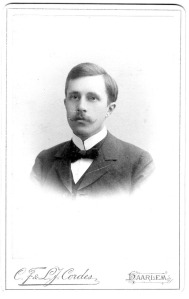 Johan Huizinga as a young man