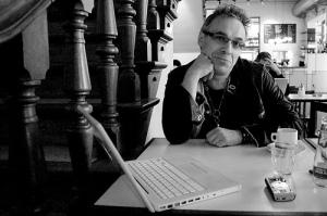 Lev Manovich at The Balie by Anne Helmond